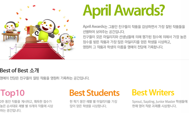 What is April Awards